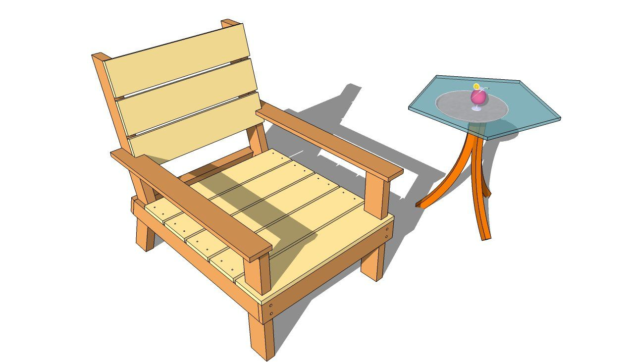 wooden outdoor furniture plans. Outdoor Chair Plans Wooden Furniture C