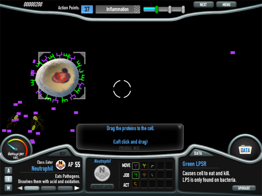 Immune Defense Web Browser Game About The Immune System Ready For