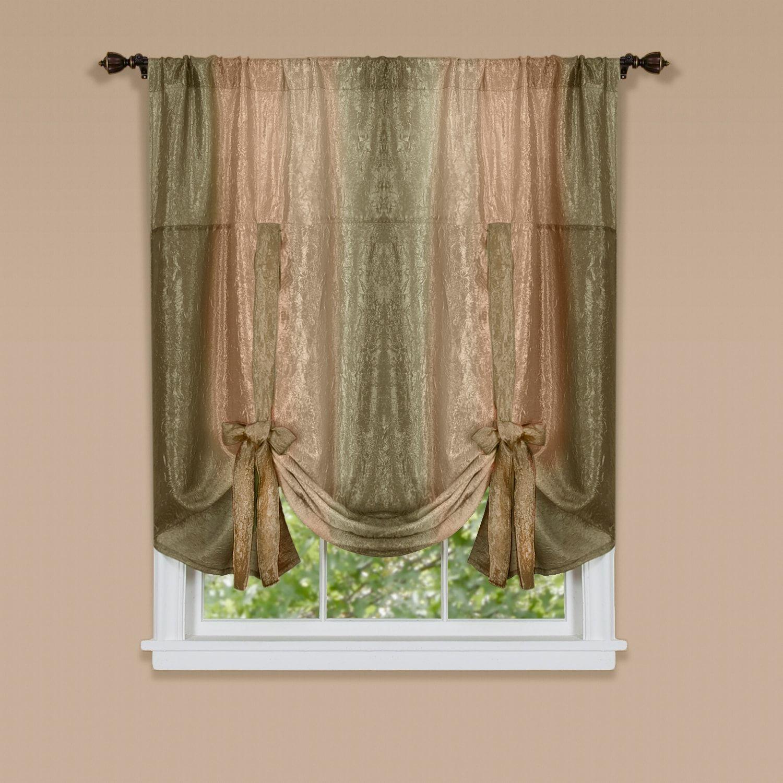 Ombre Tie Up Window Shade 50 X 63 Window Tie Ombre Shade Tie Up Shades Tie Up Curtains Window Shades