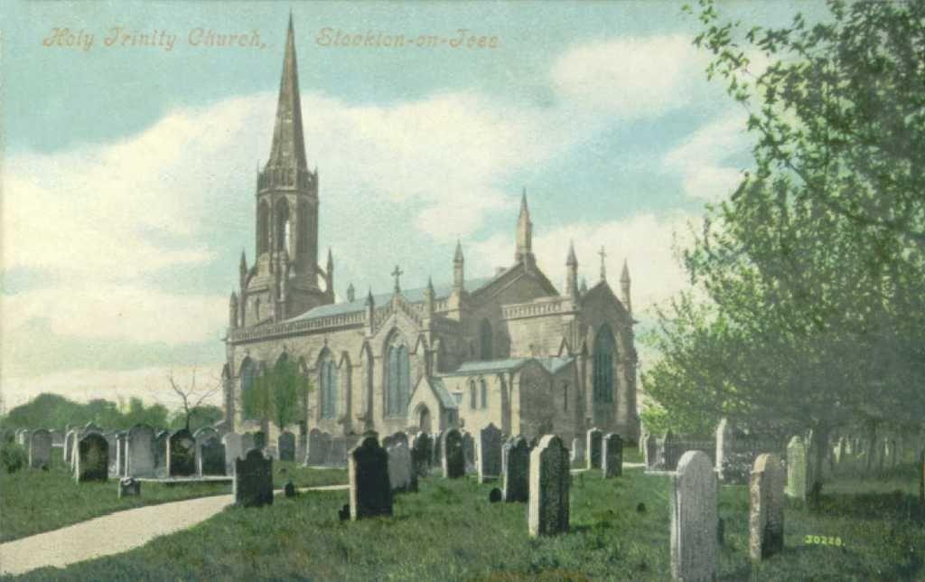 Holy trinity church stockton on tees c1908 from