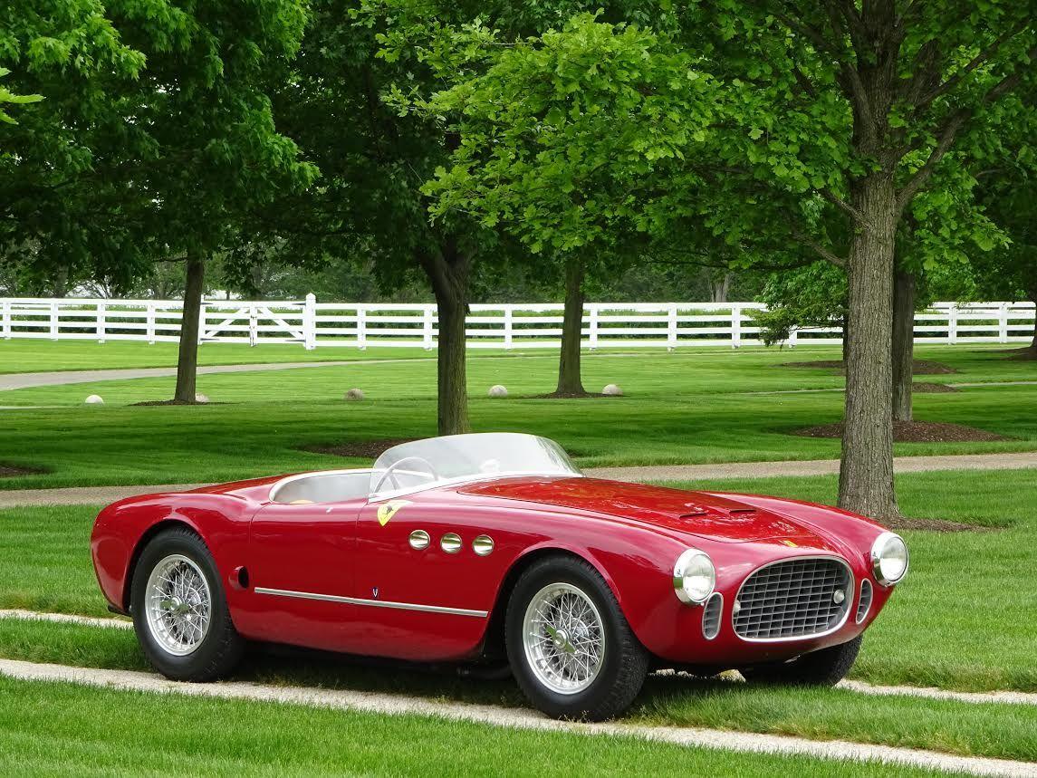1952 Ferrari 225 225 Sport Vignale Spyder Klassieke Auto S Sportwagens Auto S En Motoren