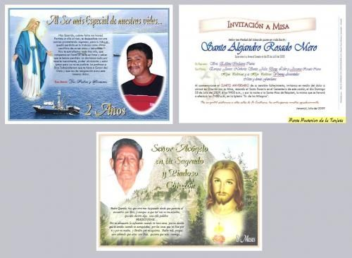 Tarjetas de invitación a misa de difuntos para imprimir - Imagui ...