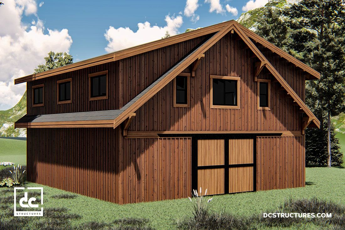 Pineridge Apartment Barn Kit 36 Home Dc Structures
