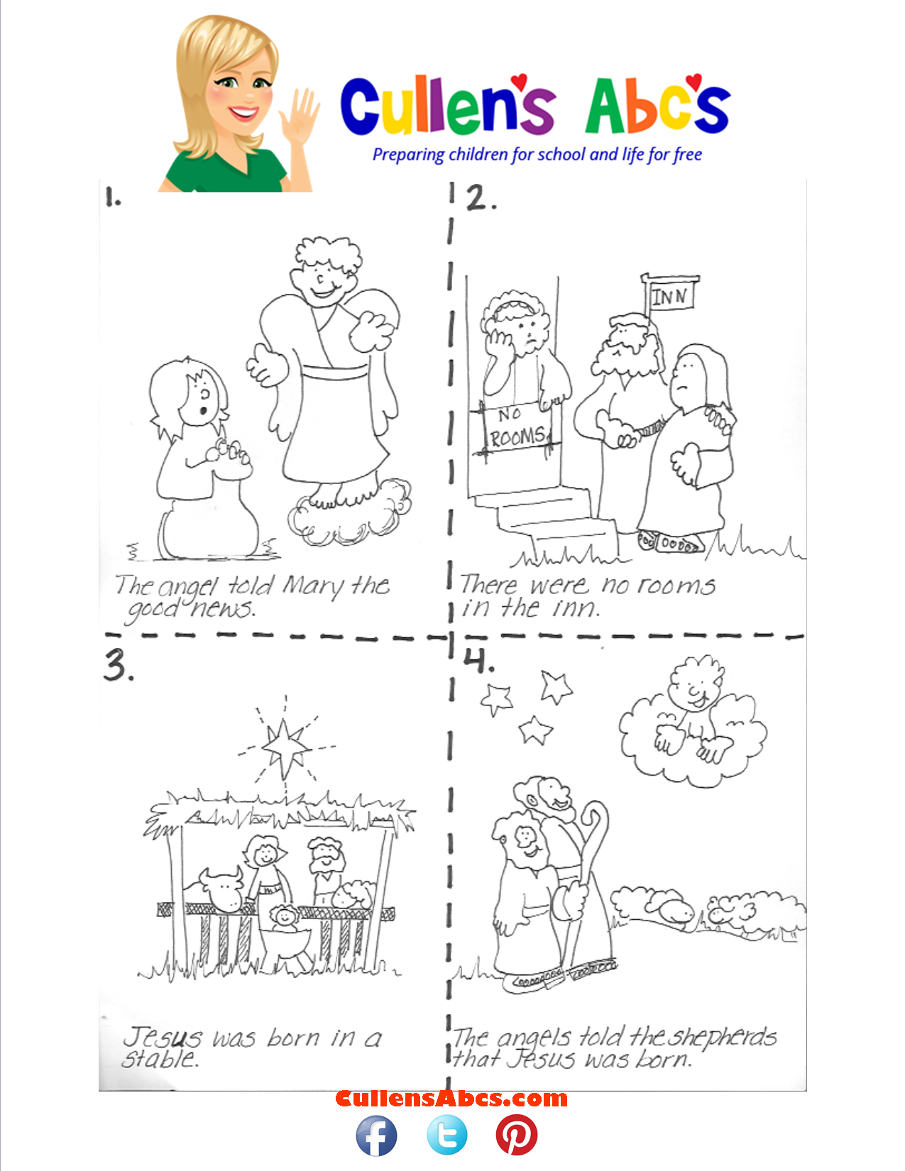 Sequencing The Good News Of Jesus Art Activity Here The