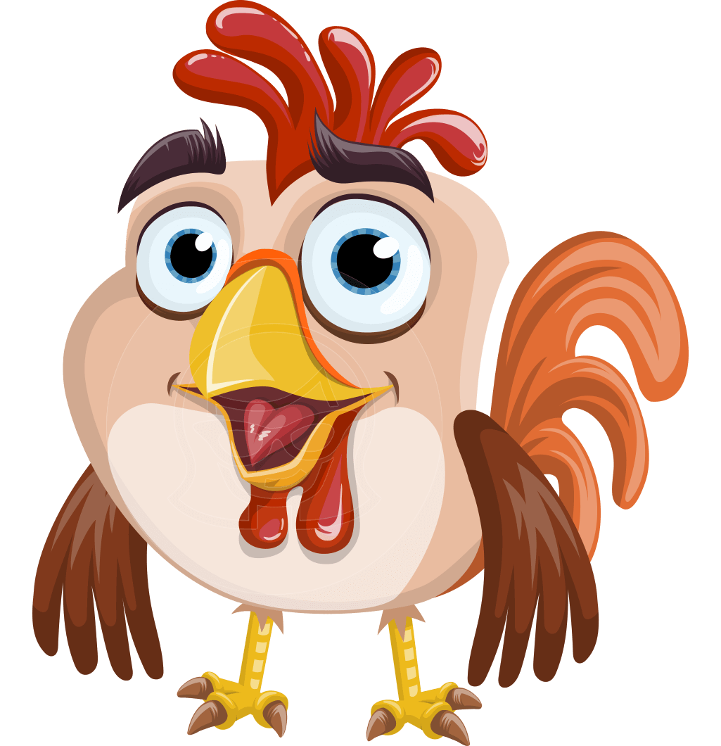a perky rooster vector cartoon who is such a versatile bird rh pinterest ca vector cartoon characters png free vector disney cartoon characters