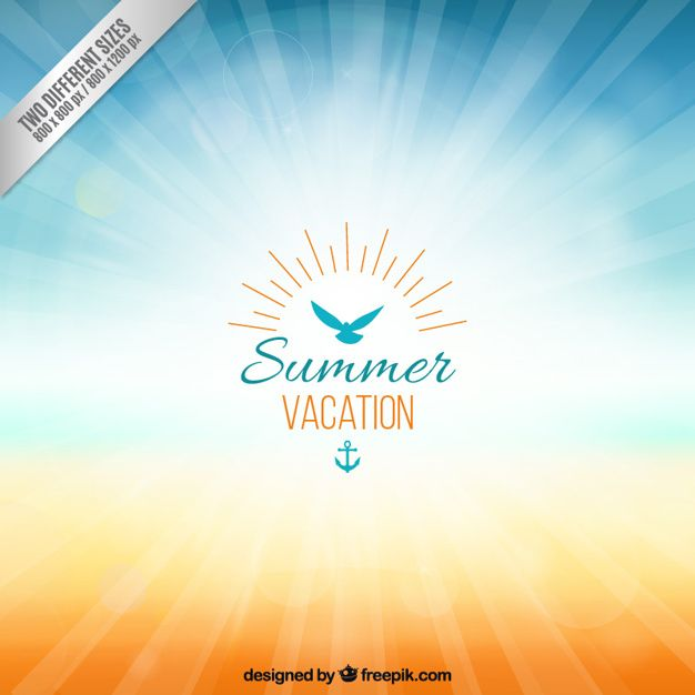 Download Background For Summer Vacation For Free In 2020