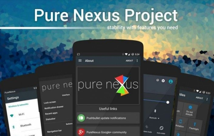 How To Install Pure Nexus Project Android Nougat Custom ROM