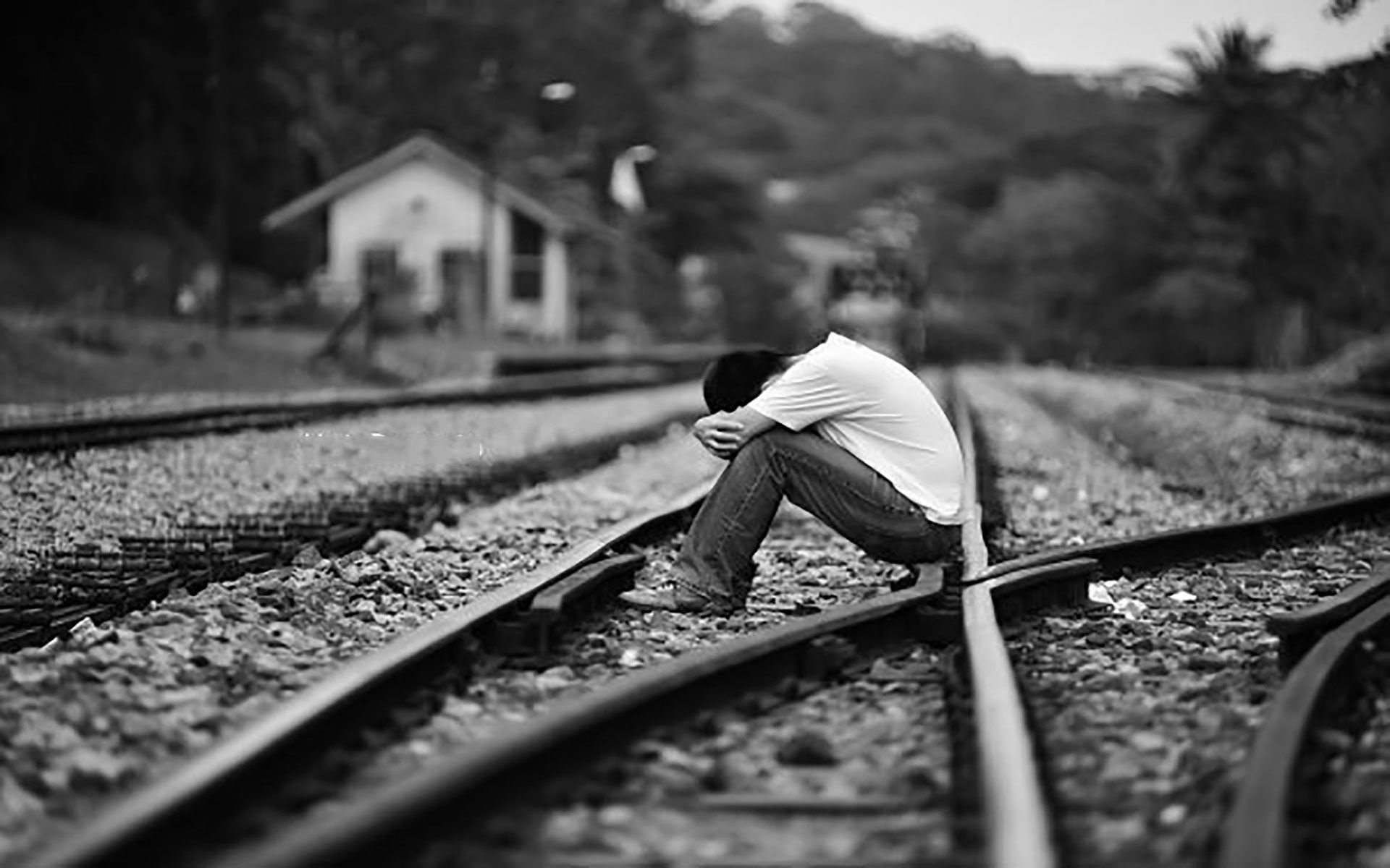 Heart Touching Sad Boy Wallpaper