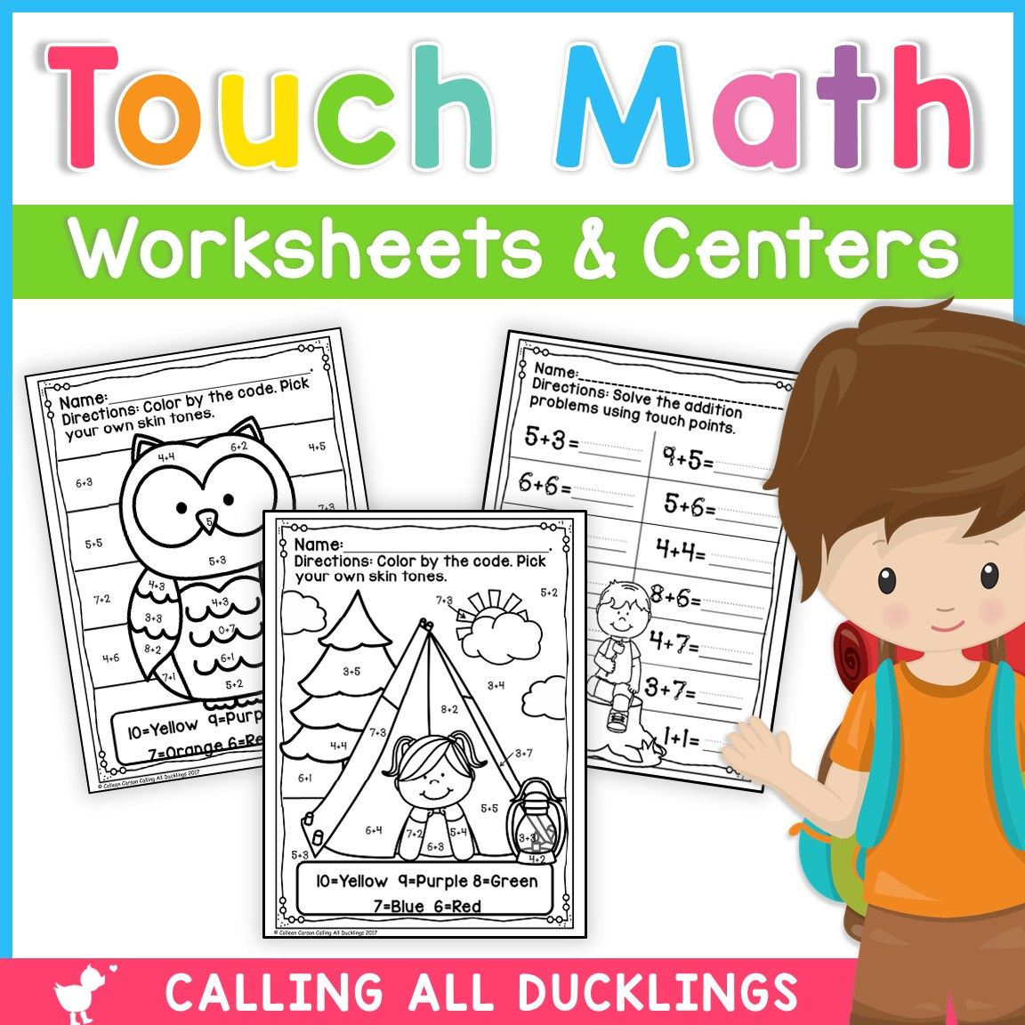 Touch Points Worksheets And Games In