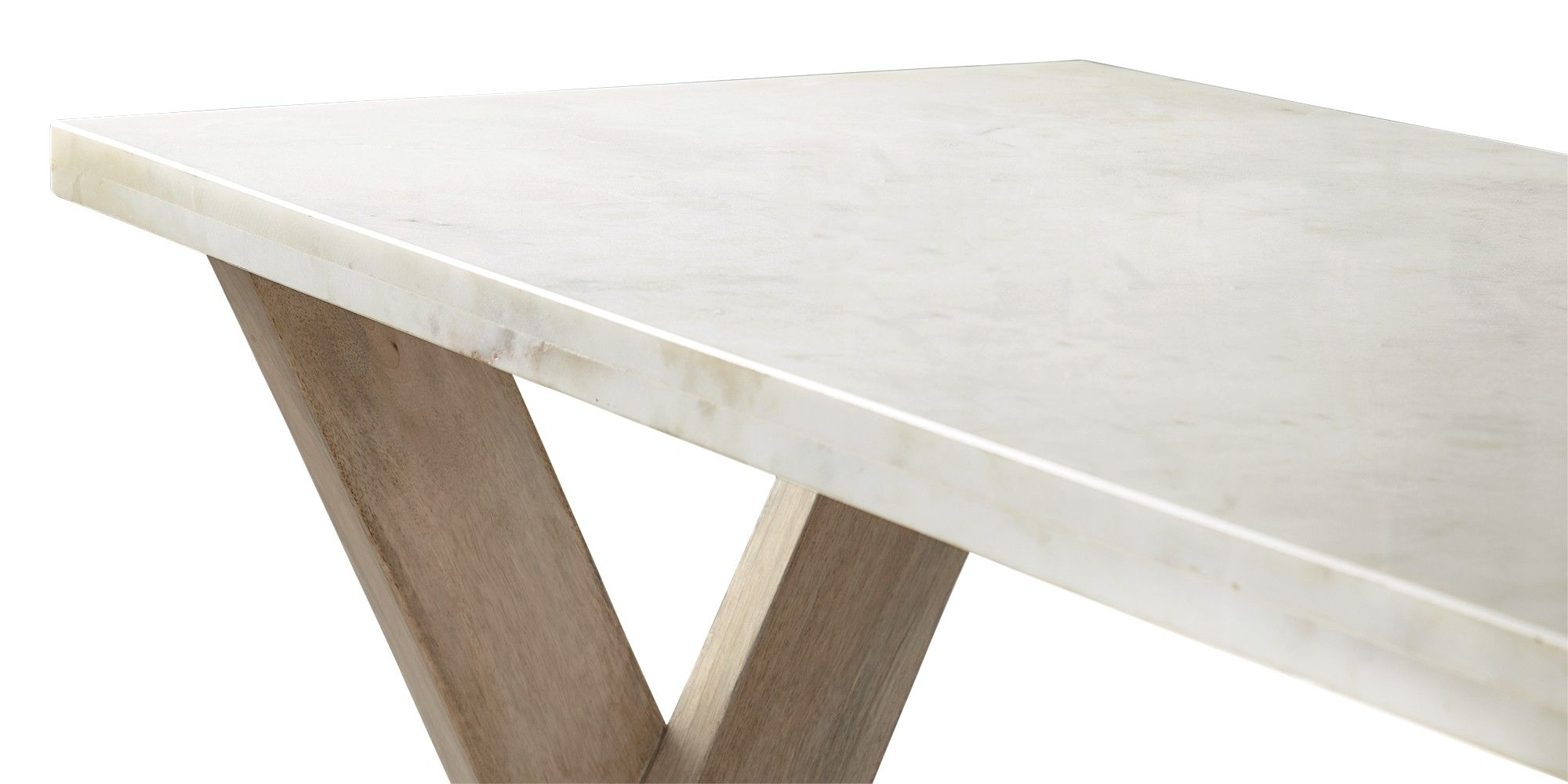 Swoon editions console table modern country style in mango wood swoon editions console table modern country style in mango wood and marble geotapseo Gallery