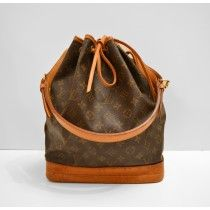 Louis Vuitton Noe i Monogram Canvas.
