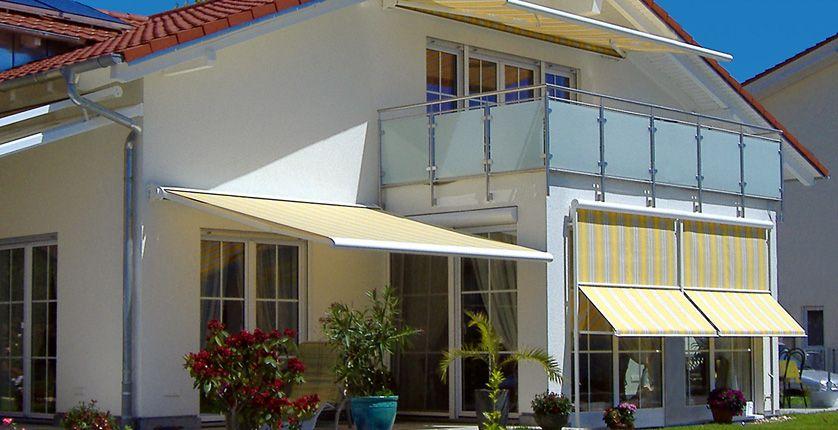riembauer terrassen berdachung und markisen center regenstauf markisen pinterest. Black Bedroom Furniture Sets. Home Design Ideas