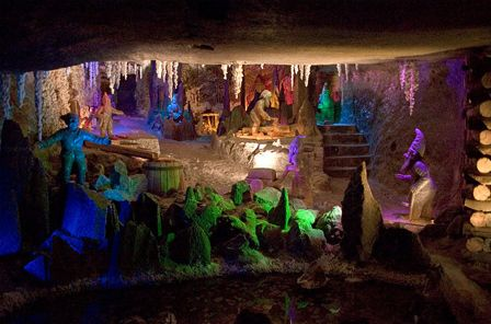 Wieliczka, Poland sits atop one of the world's oldest salt mines