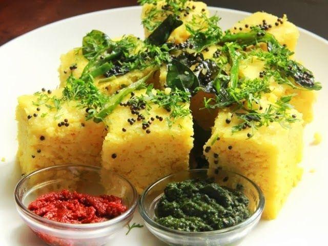 Dhokla or Dhokra is a vegetarian food item that originates ...