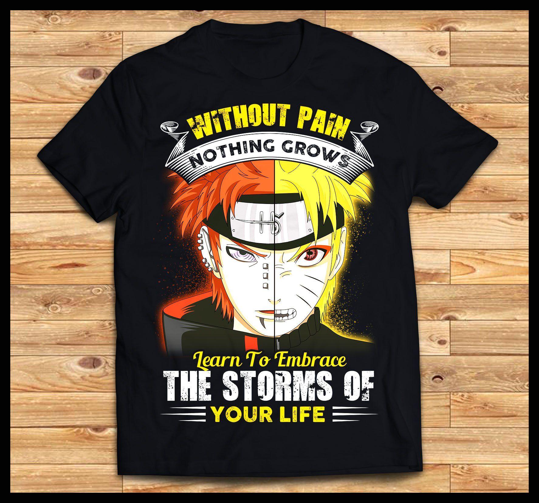 Pain Naruto Shirt Anime Naruto Pain Naruto Naruto Shirts