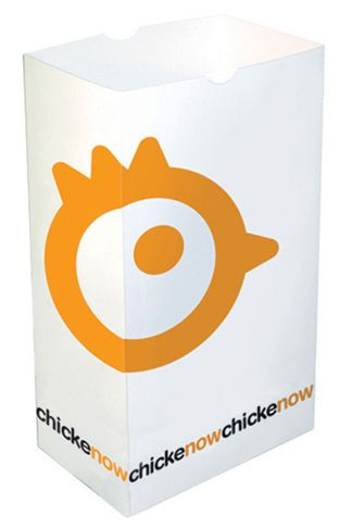 New Identity For Fast Food Chain Specializing In Chicken Fingers