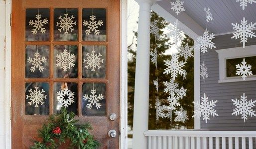 outdoor-snowflakes