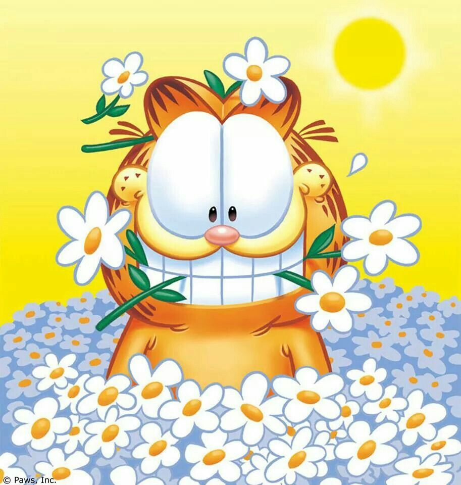 Good Morning Have A Nice Day Quotes Cute Quote Garfield Step Heart