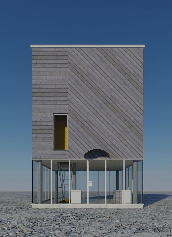 Pingl par maria dimitriadi sur architecture pinterest for Construction maison minimaliste
