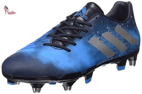 adidas Malice Elite SG, Chaussures de Rugby Homme, Bleu (Maosno/Plamet/Azusol Maosno/Plamet/Azusol), 43 1/3 EU