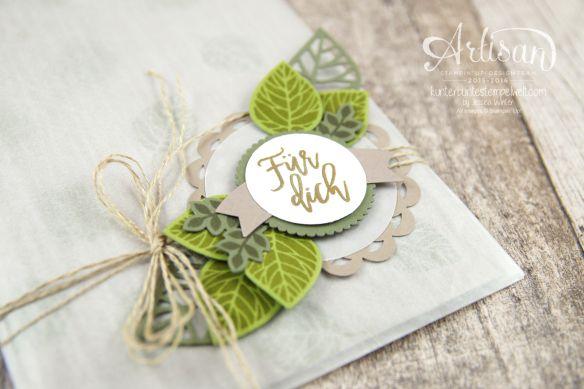 Stampin´ Up! - Artisan Design Team - Blog Hop - Wald der Worte - Beautiful Branches Thinlits - 5