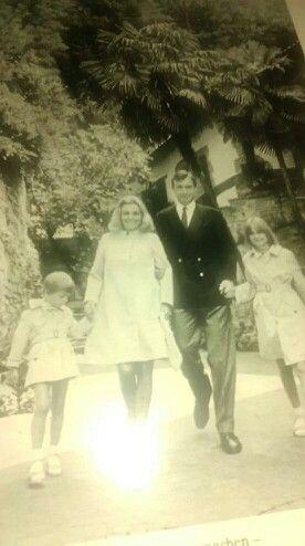 Peter Alexander und Familie