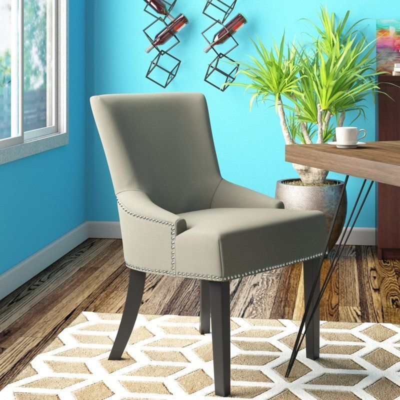 Linen Dining Chair Light Grey Backrest Solid Birch Wooden Living Classy Wooden Living Room Chairs Inspiration