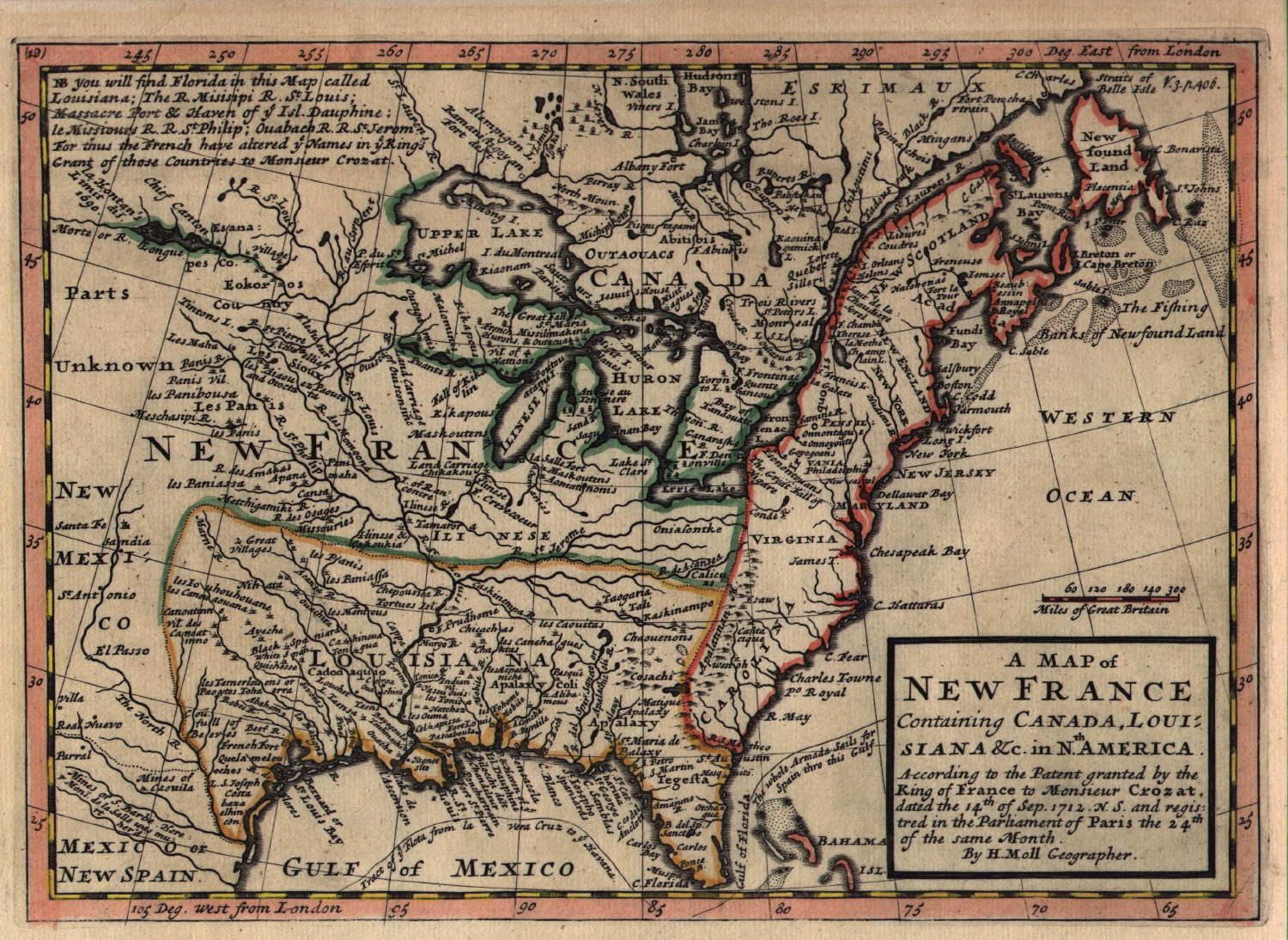 High quality maps of 18th century America