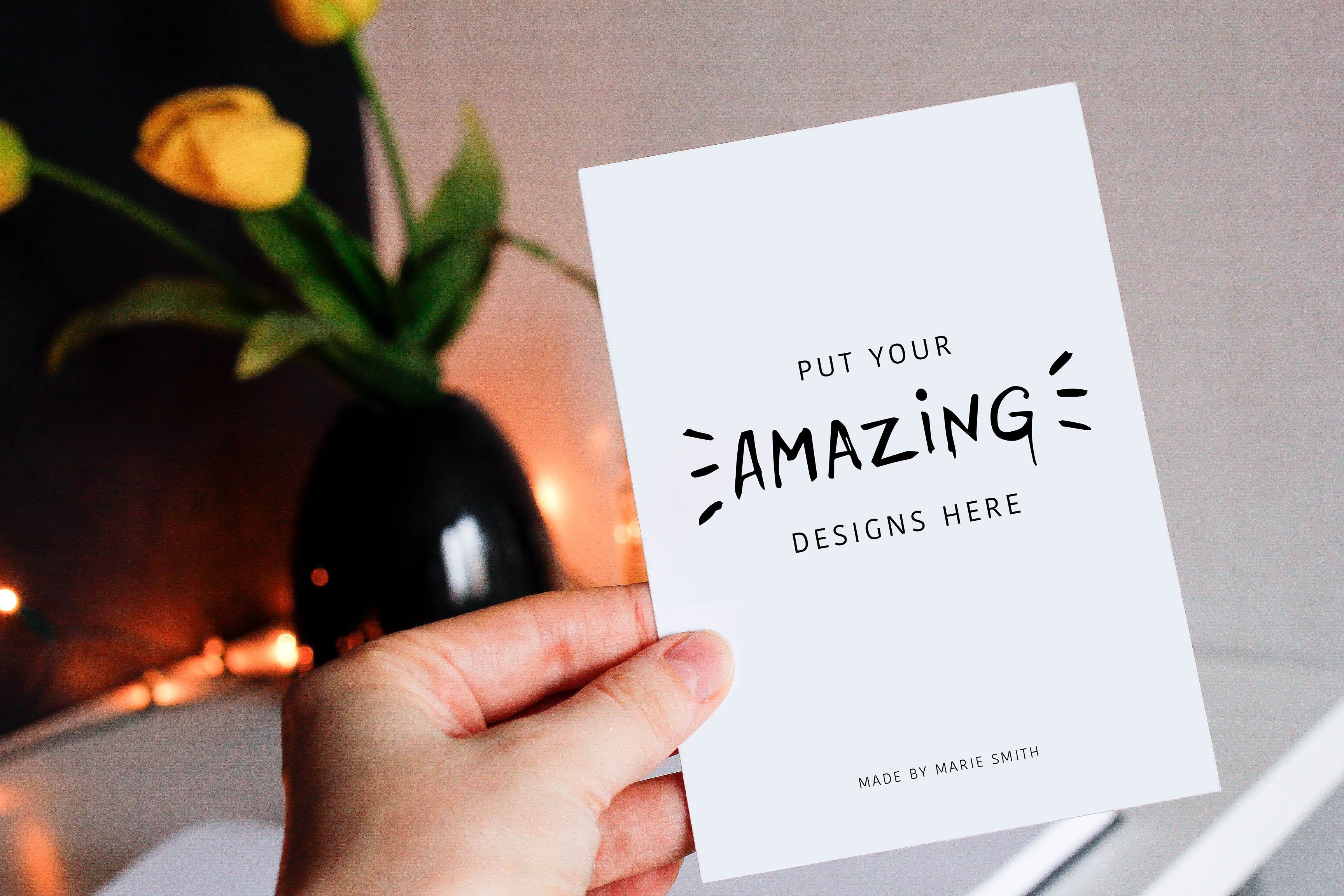 175 Mockups Free Postcard Mockups By Marie Smth On Creativemarket