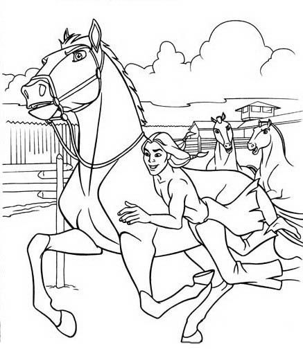 Tegninger til Farvelægning Spirit 7