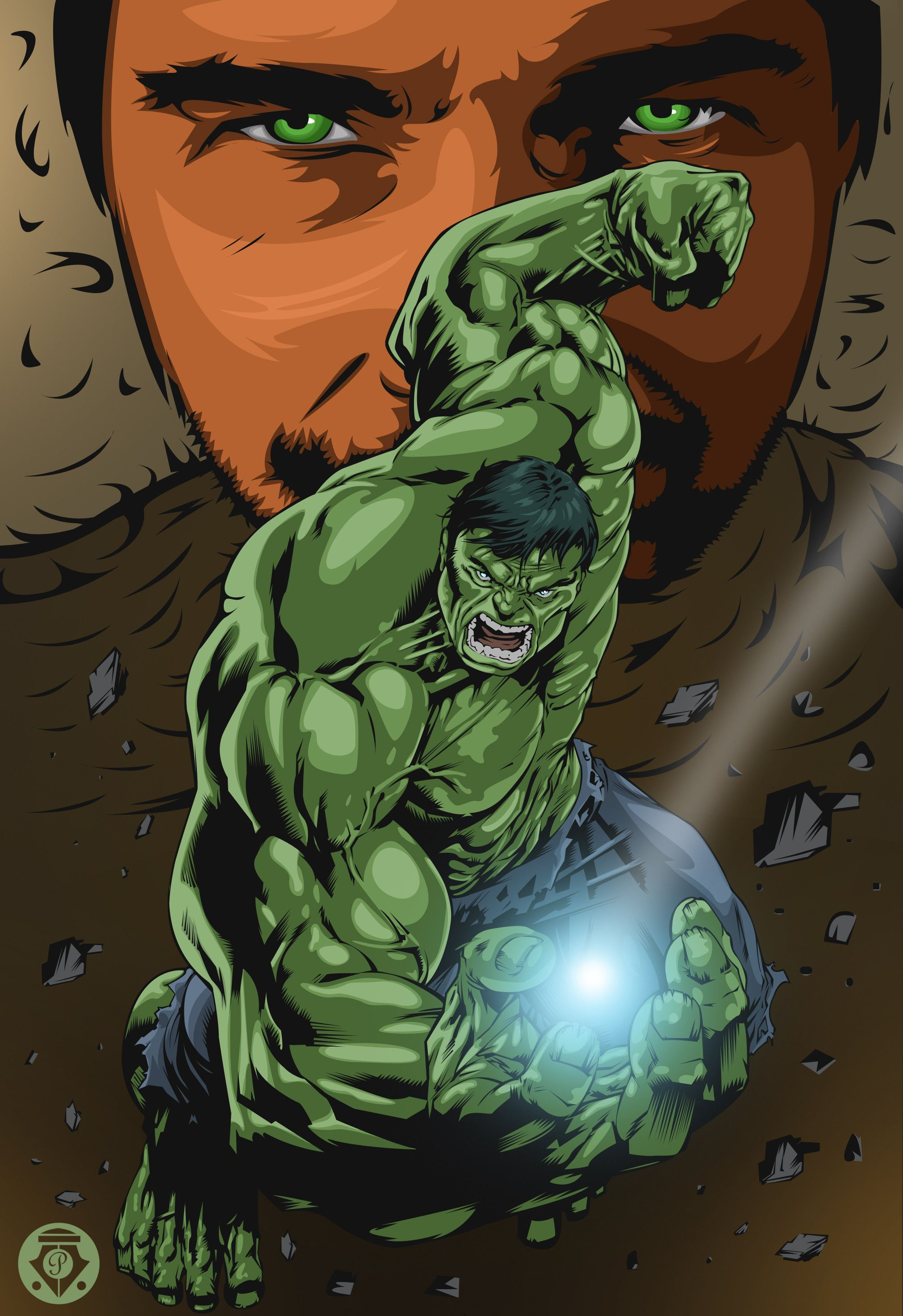 #Hulk #Fan #Art. (The Hulk) By: Pipingskie & Shadowness. (THE * 5 * STÅR * ÅWARD * OF: * AW YEAH, IT'S MAJOR ÅWESOMENESS!!!™)[THANK Ü 4 PINNING!!!<·><]<©>ÅÅÅ+(OB4E)
