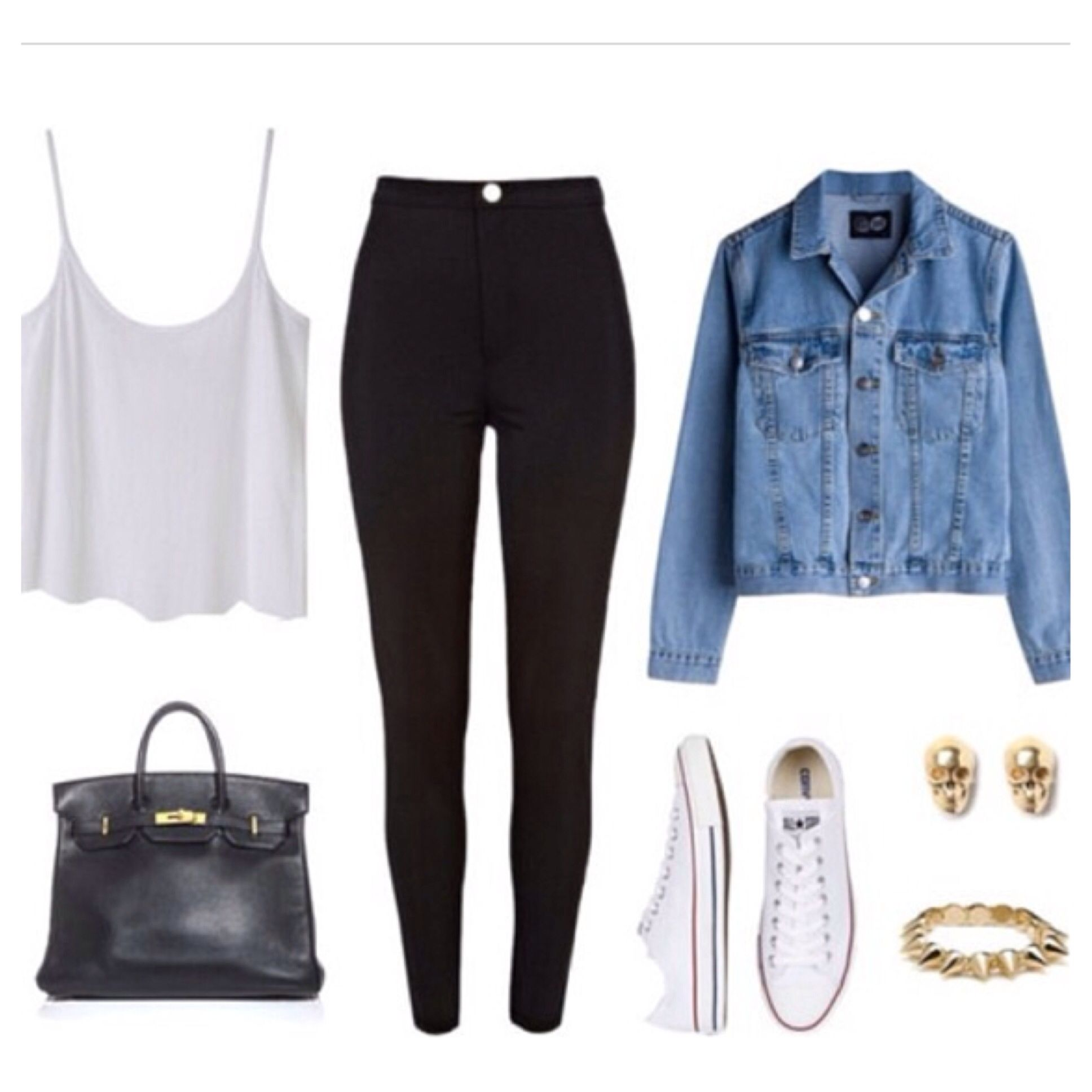 This is such a cute outfit   fashion   Pinterest   School ...