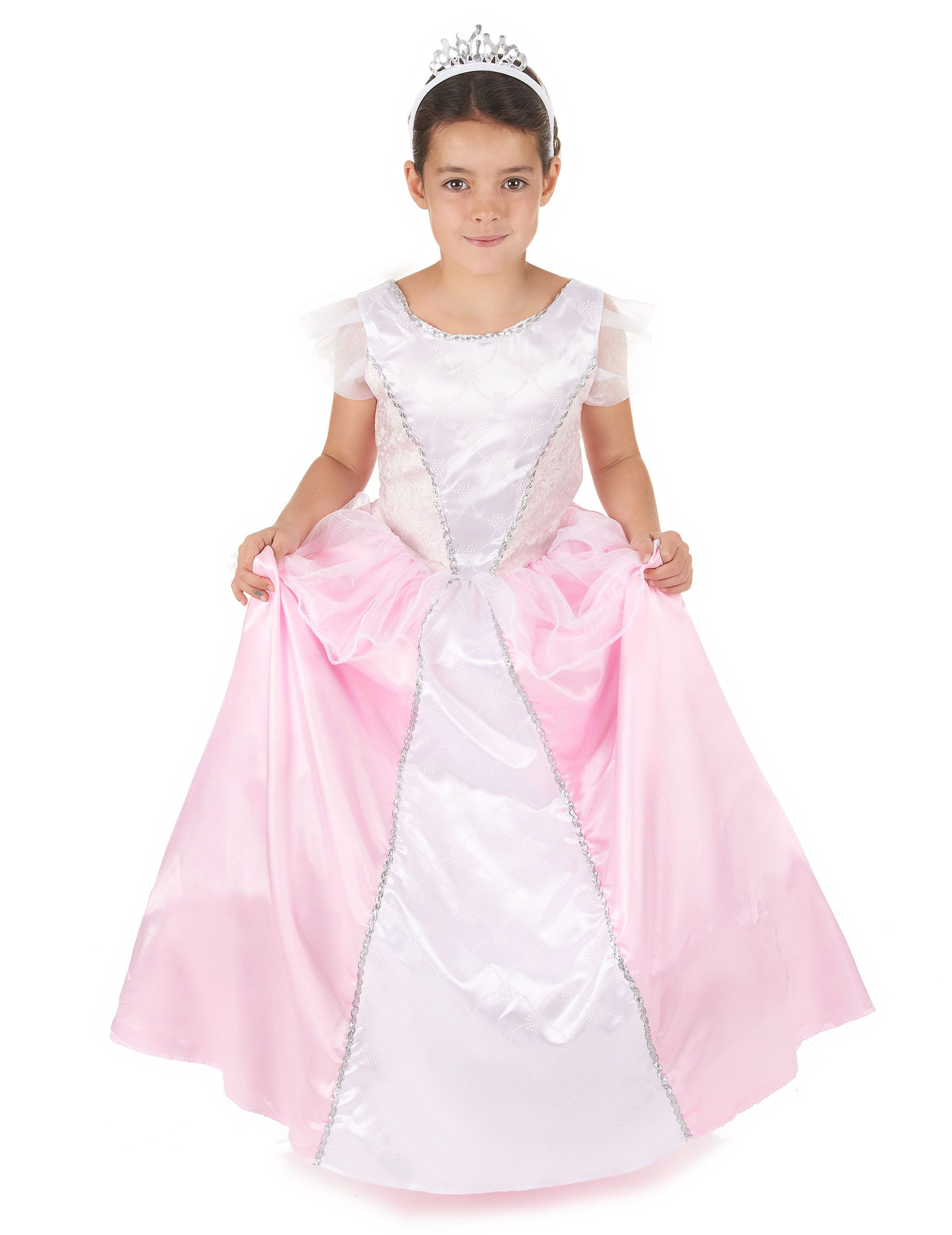 Disfraz princesa niña rosa y blanco | Disfraz princesa, Disfraz de ...