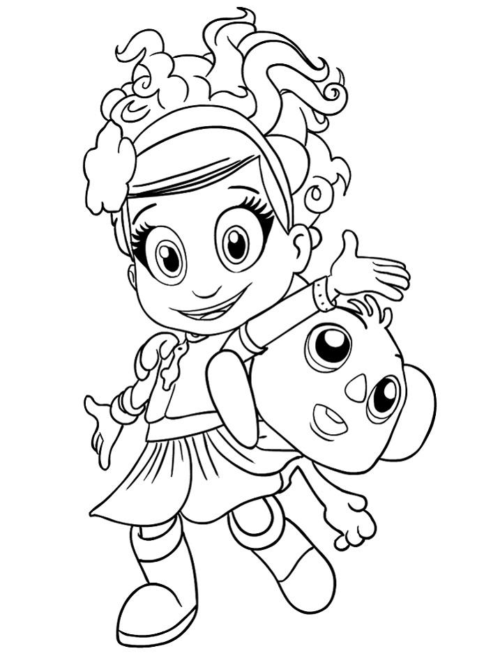 Luna And Karoo Coloring Page Free Printable Coloring Pages For Kids In 2021 Coloring Pages Free Printable Coloring Printable Coloring Pages