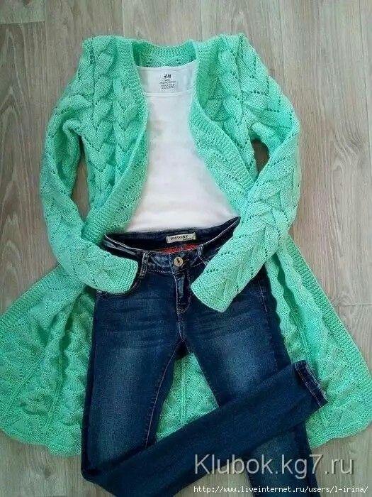 Pin von Valen♡ Tina. auf crochet   Pinterest   Jacke stricken ...