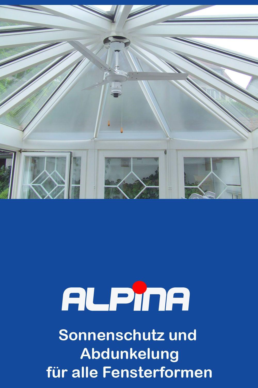 Sonnenschutz und Abdunkelung für alle Fensterformen