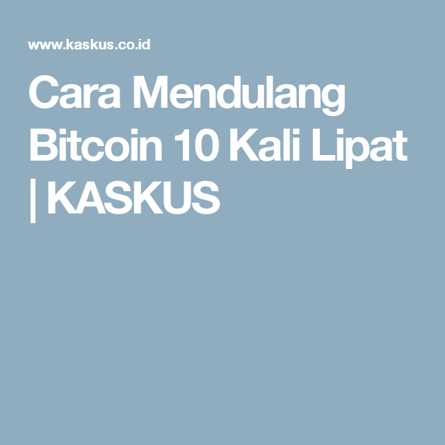 Mendulang bitcoins bet on your baby online
