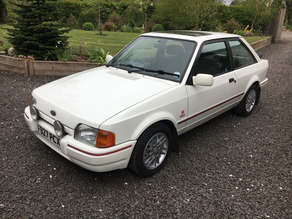 Ebay Ford Escort Xr3i Genuine 82 000 With Full Documented History P Ex Considered Cars Ford Escort Ford Cars