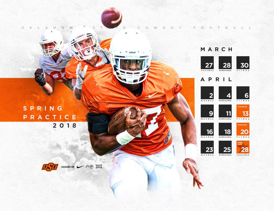 Oklahoma State Sports design inspiration, Sports design
