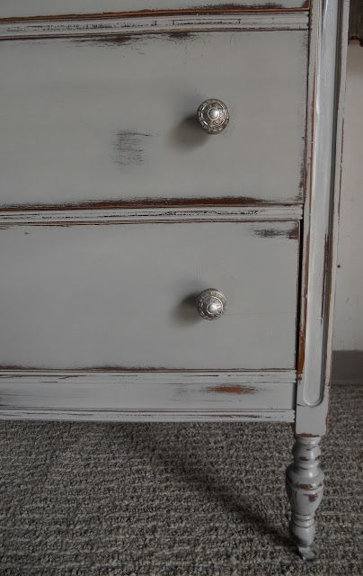 {createinspire}: French Dresser. Annie Sloans Chalk Paint