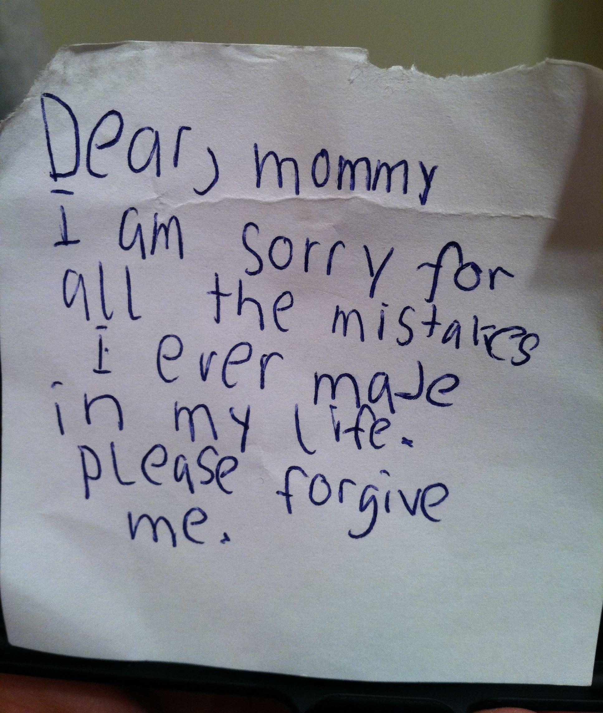 Dear Mom, Mom Quotes
