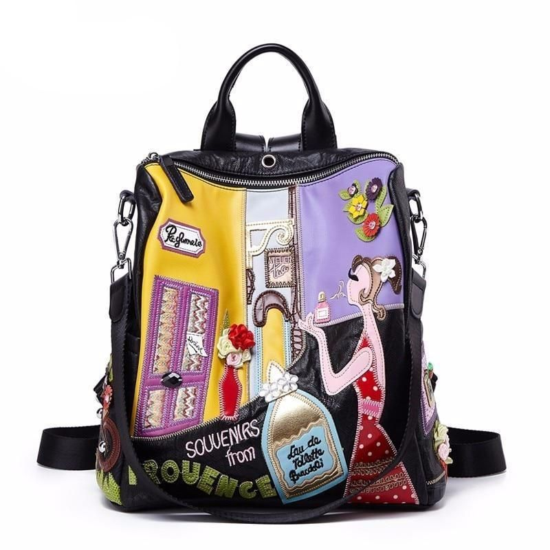 Women Backpack Fashion Causal Bags High