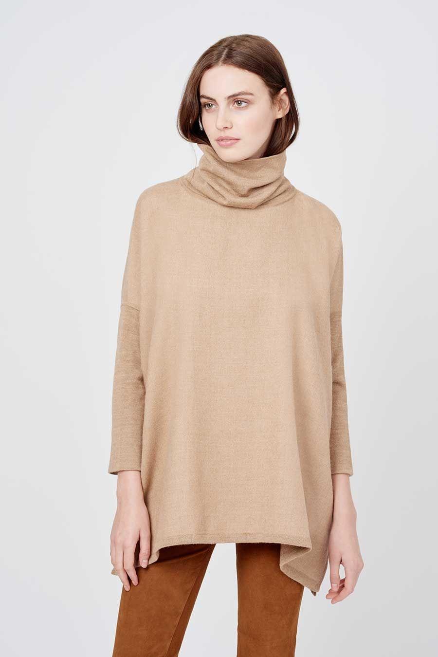9a993d2eb Cuyana Baby Alpaca Oversized Turtleneck Sweater