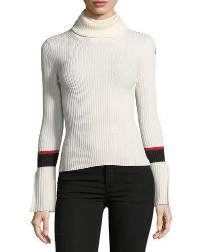 TVXRB Moncler Knitted Turtleneck Jumper Sweater