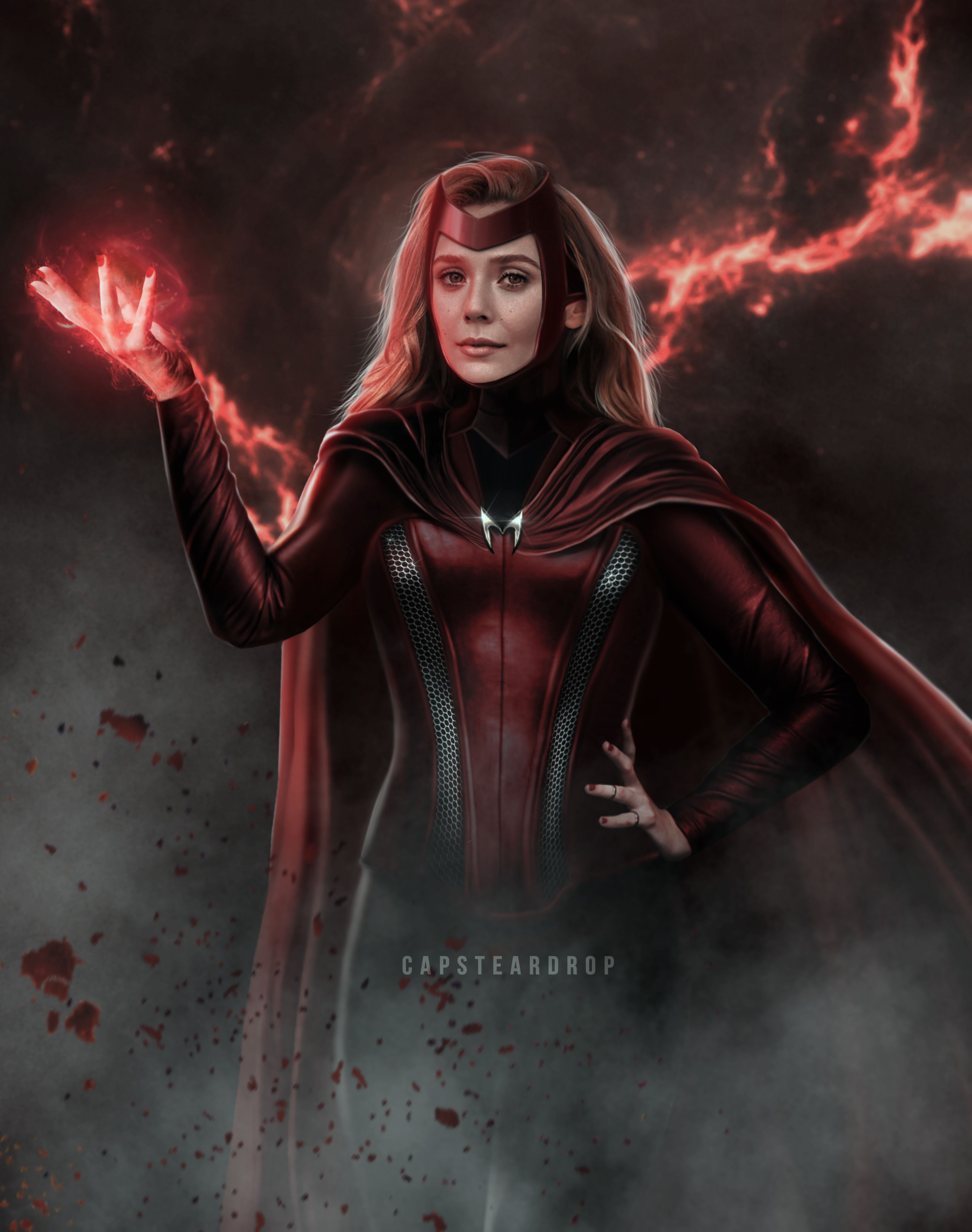 Scarlet Witch Concept Art In 2020 Scarlet Witch Comic Scarlet Witch Scarlet Witch Marvel