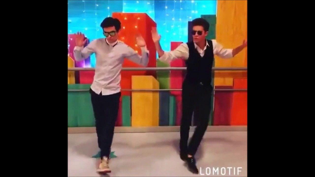 El baile de Ruggero Pasquarelli y Agustin Bernasconi