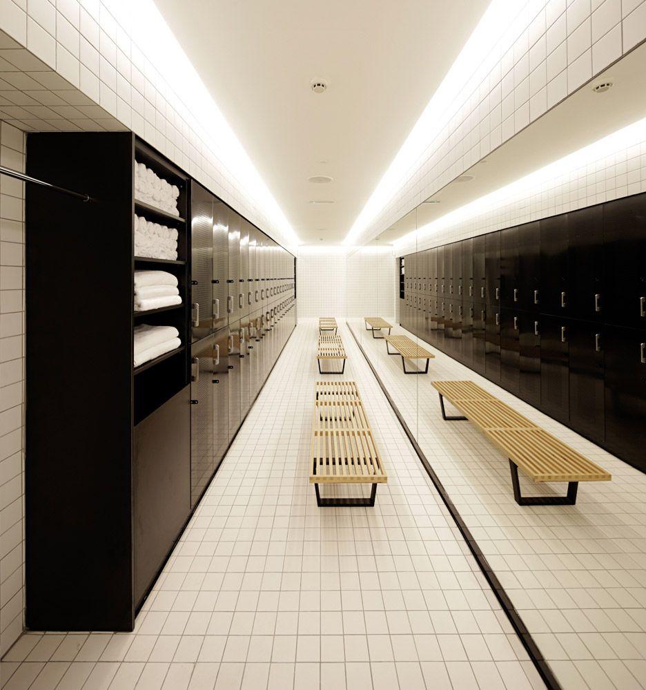 3426831f5 Lab100 Design Studio creates Kuwait boxing gym   Design   Vestiario ...
