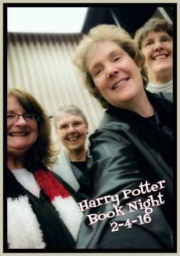 Harry Potter night staff