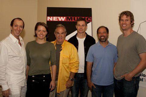 L-R)Tom Silverman (Co-founder NMS),Emily White (Partner, Whitesmith
