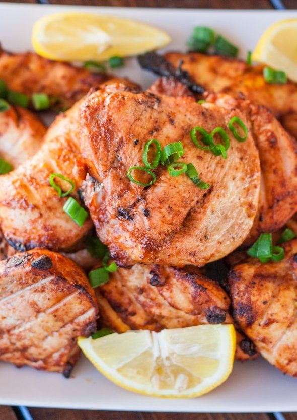 Baked Tandoori Chicken - healthy and delicious Indian ...